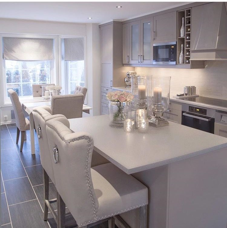 Condo Kitchen Remodel Interior: Ahhhh. So Me! The Silver Ring Pulls On The Back Of The