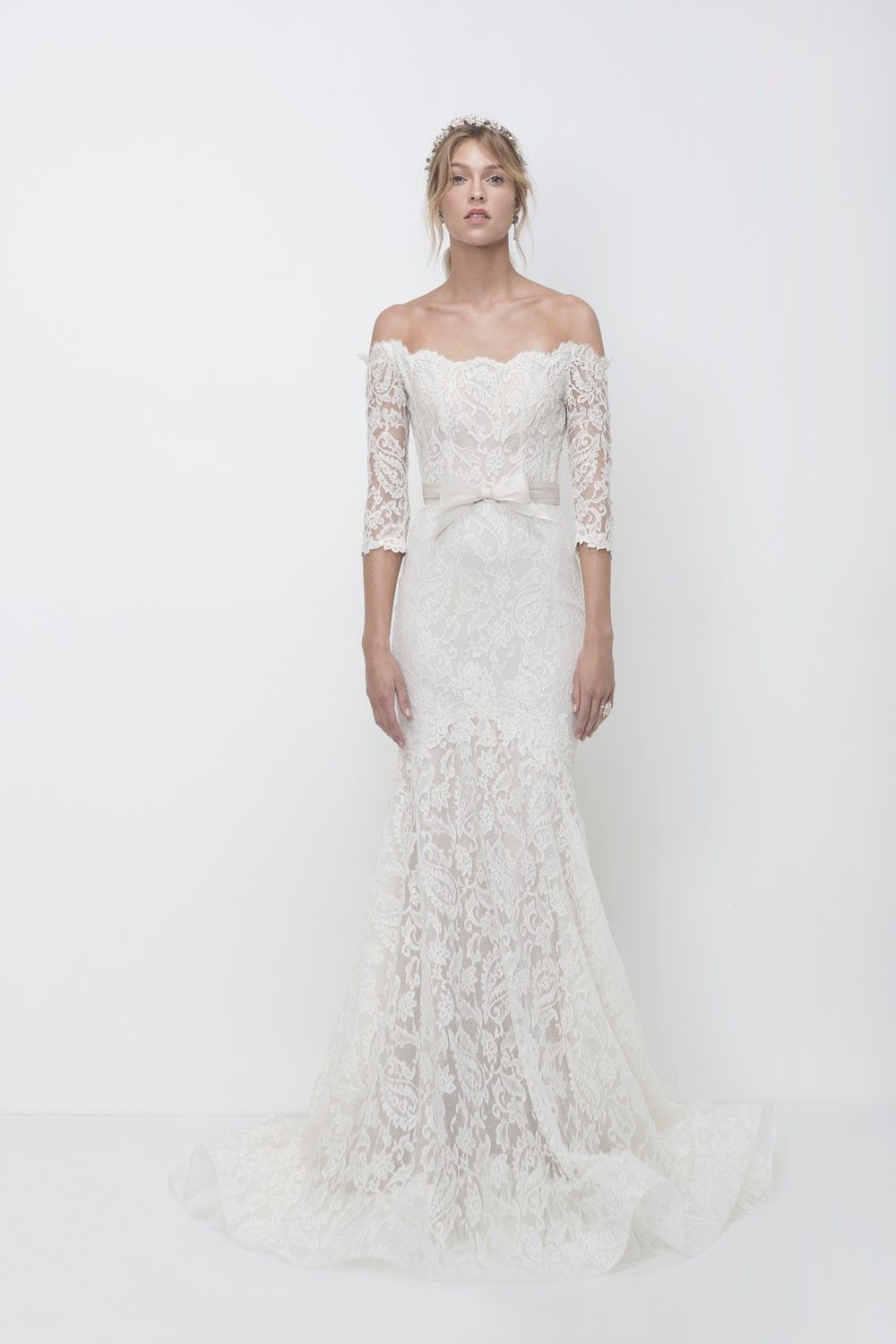 A whiter shade of pale lihi hodus bridal collection bridal