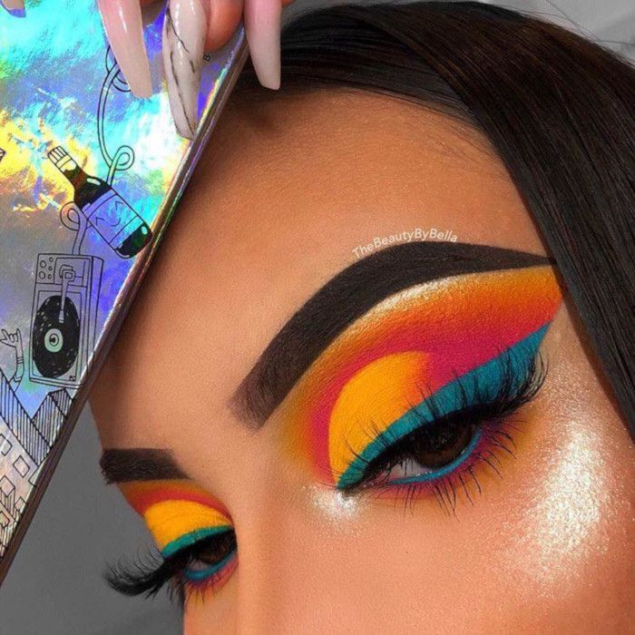 Colorful Eyes is the Hottest Summer Makeup Trend