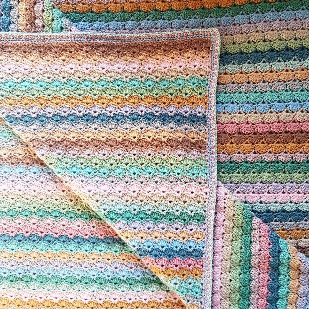 Attic24 The Dune Blanket Blanket Crochet Throw Pattern