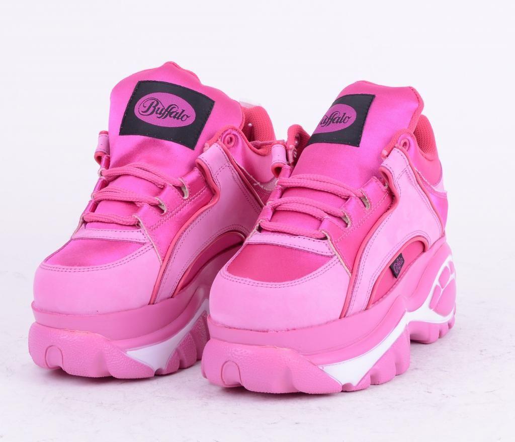 pink buffalo sneakers