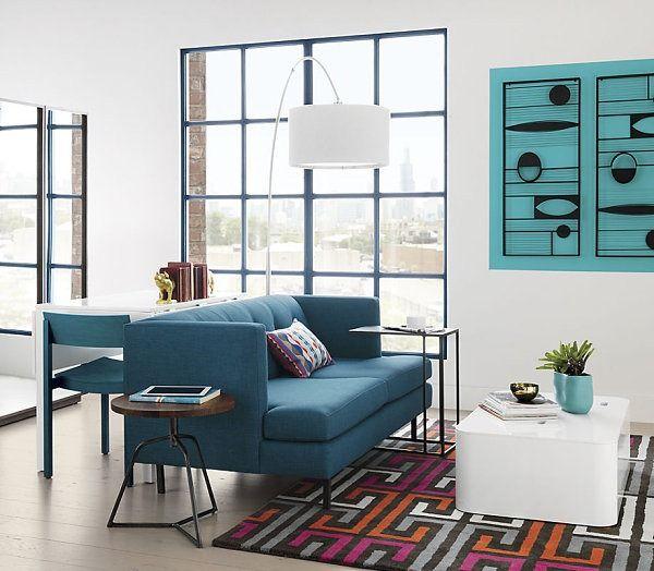 minimalistische kunst wohnzimmer retro stil figuren | http ... - Wohnzimmer Retro Stil