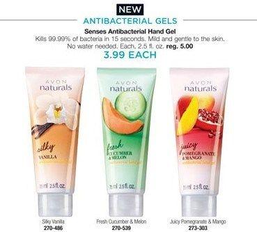 Avon Antibacterial Gels Kill 99 99 Bacteria Antibacterial Gel