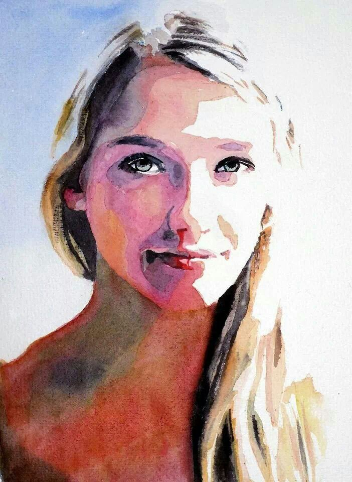 Watercolor Portrait Watercolor Portraits Portrait Art