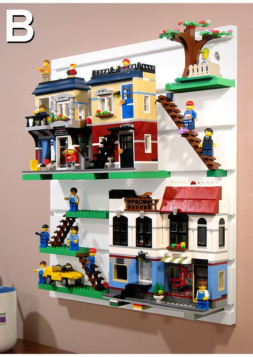 Brickrack lego display system lego kinderzimmer und - Lego kinderzimmer ...