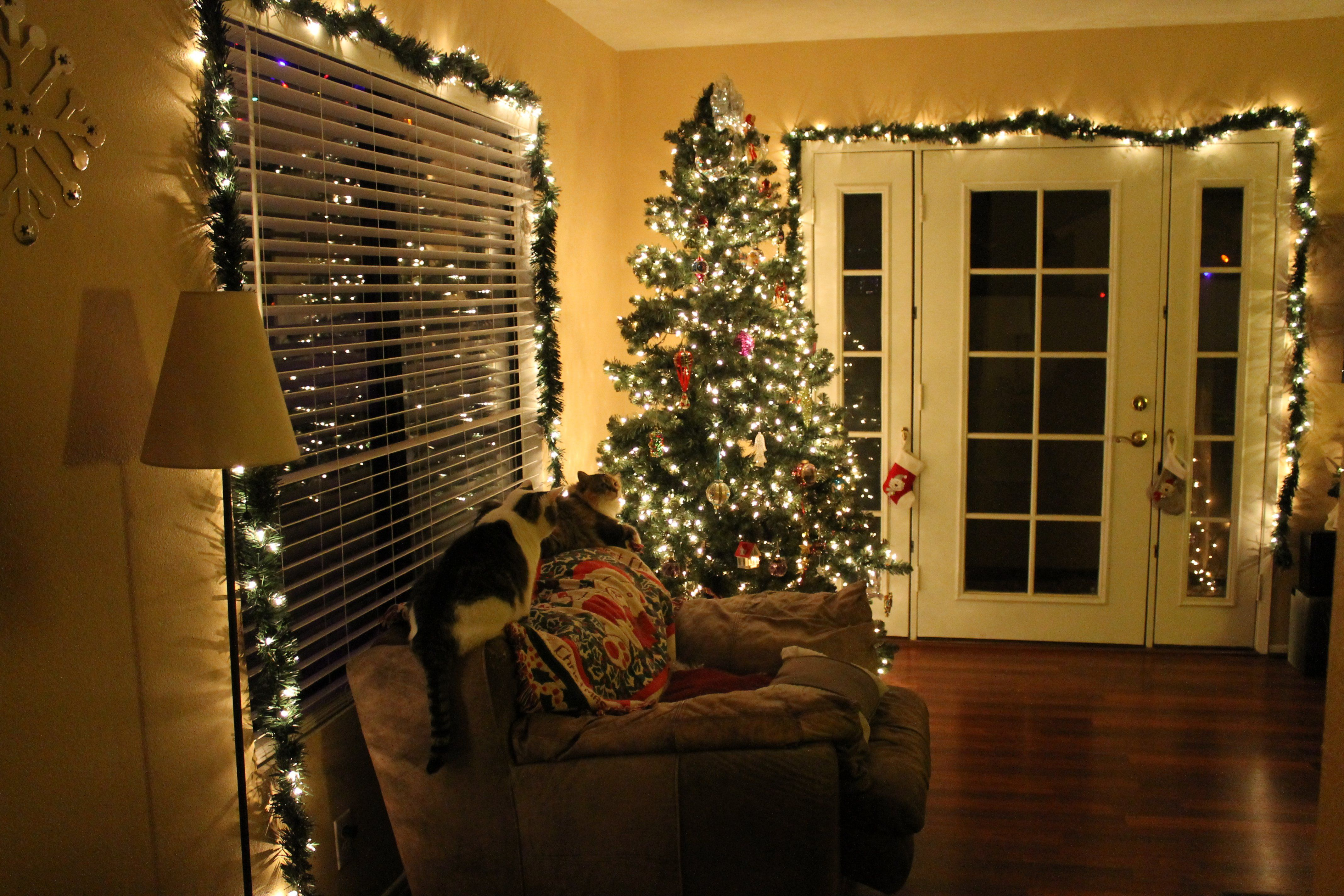 Christmas Light Decorating Ideas Inside