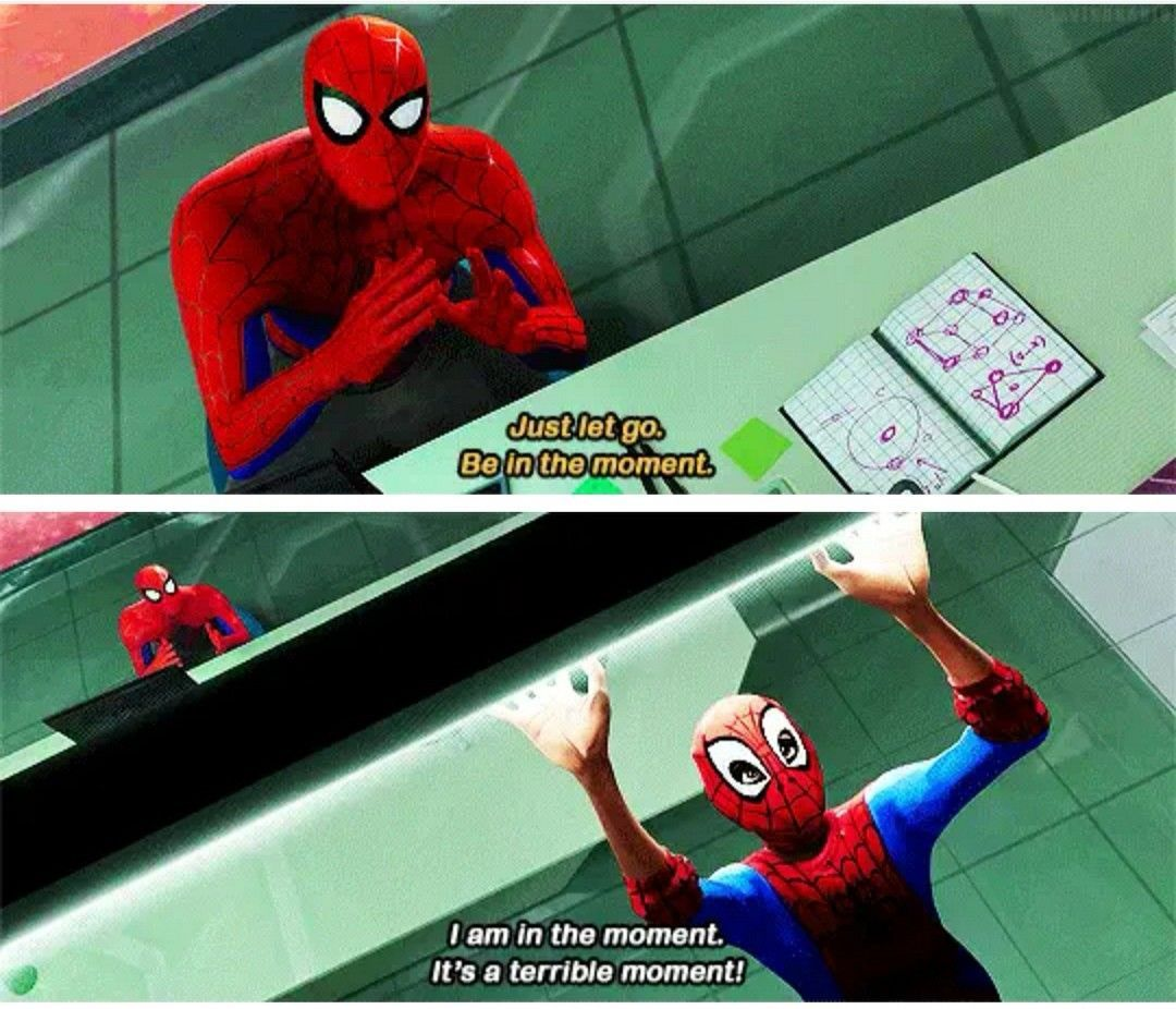 Marvel Spiderman Into The Spiderverse 2018 Spiderman