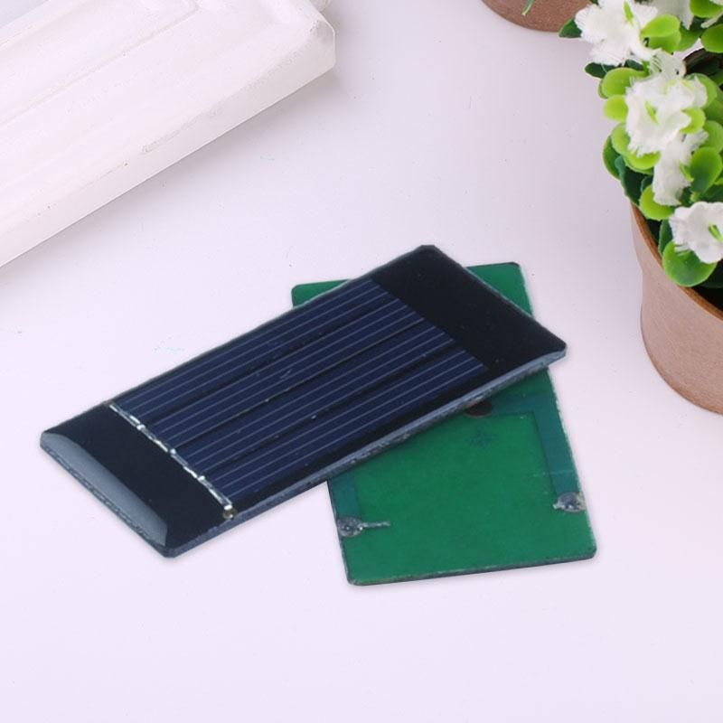 Portable Mini Home DIY 2V 50mA Solar Panel Module Solar Power Panel for Cell Phone Charger Smart Mobile phone Toy 30x60mm #Affiliate