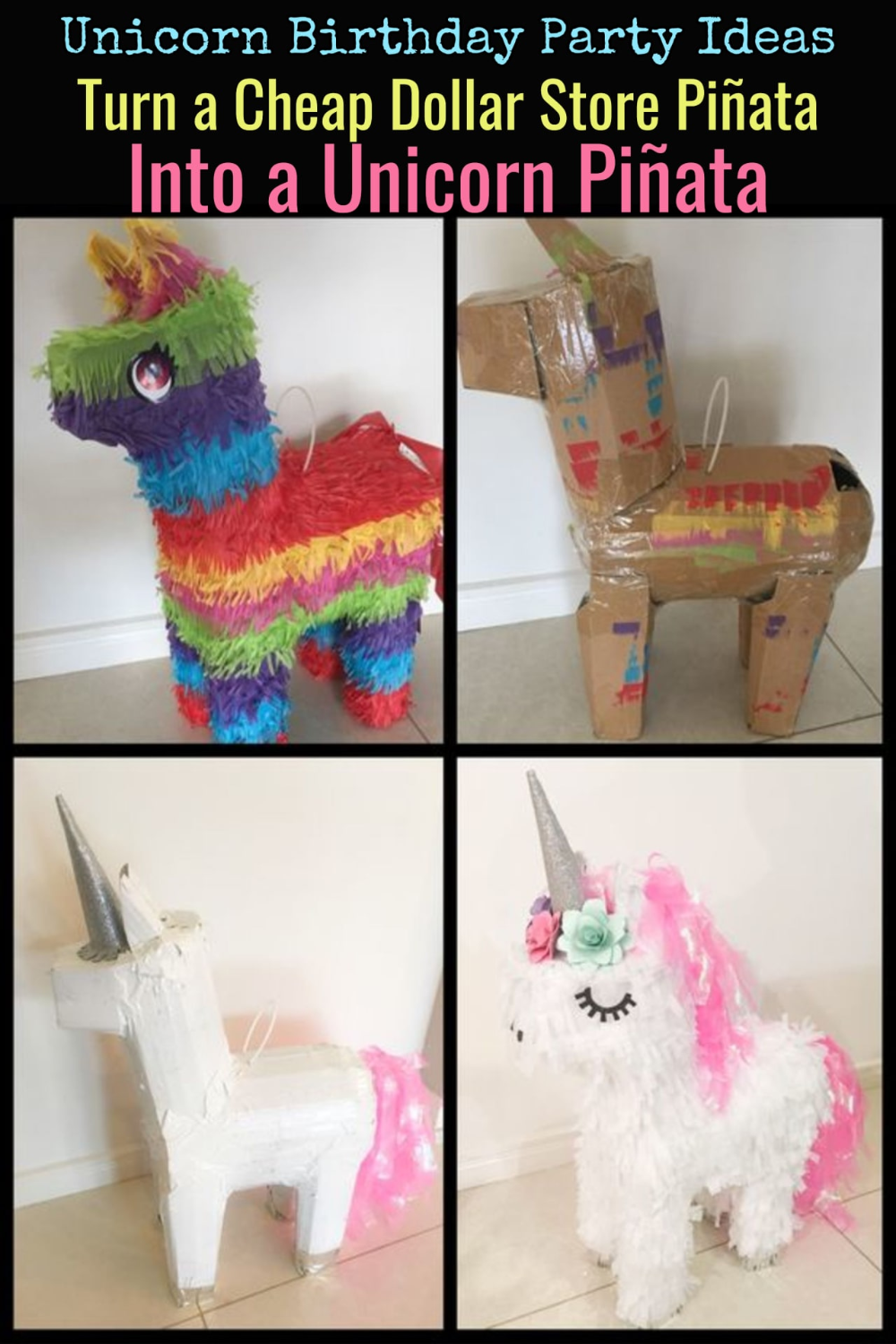 Unicorn Crafts for Kids - Cute & Easy DIY Unicorn Craft Ideas - Involvery #unicorncrafts