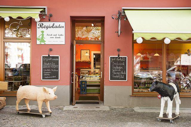 Bioladen am Kollwitzplatz, Berlin-Prenzlauer Berg   Wholefood shop at Kollwitzplatz, Berlin-Prenzlauer Berg, via Flickr © visitBerlin   Koschel More information: visitBerlin.com