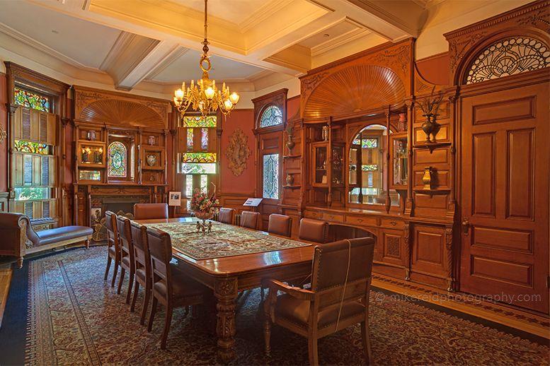 Craigdarroch Castle Dining Room Victoria BritishBritish ColumbiaCastles