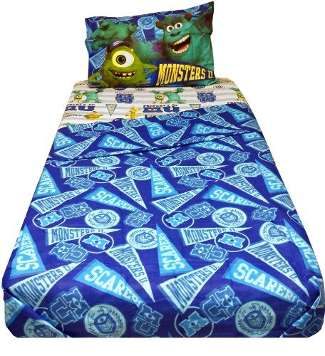 Disney Pixar Monsters University Sheet Set, Twin, 2015 Amazon Top Rated  Sheets U0026 Pillowcases