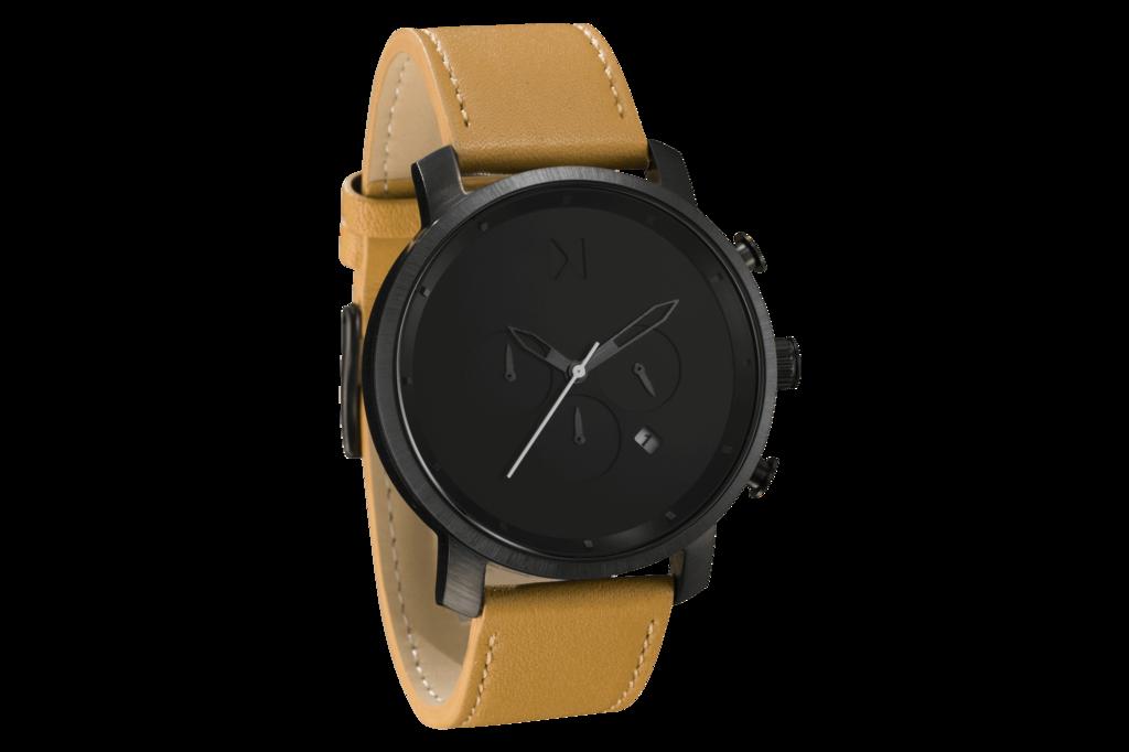 Ρολόγια · Chrono Black Tan Leather 7dde0872309