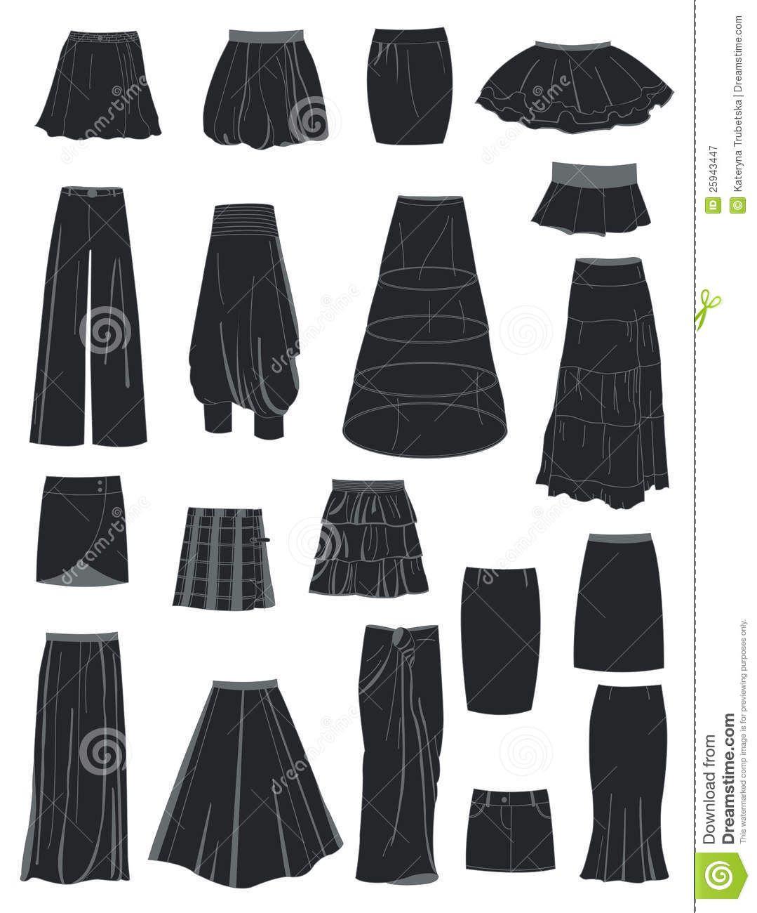 a4143ac8fc Resultado de imagen para falda alineada