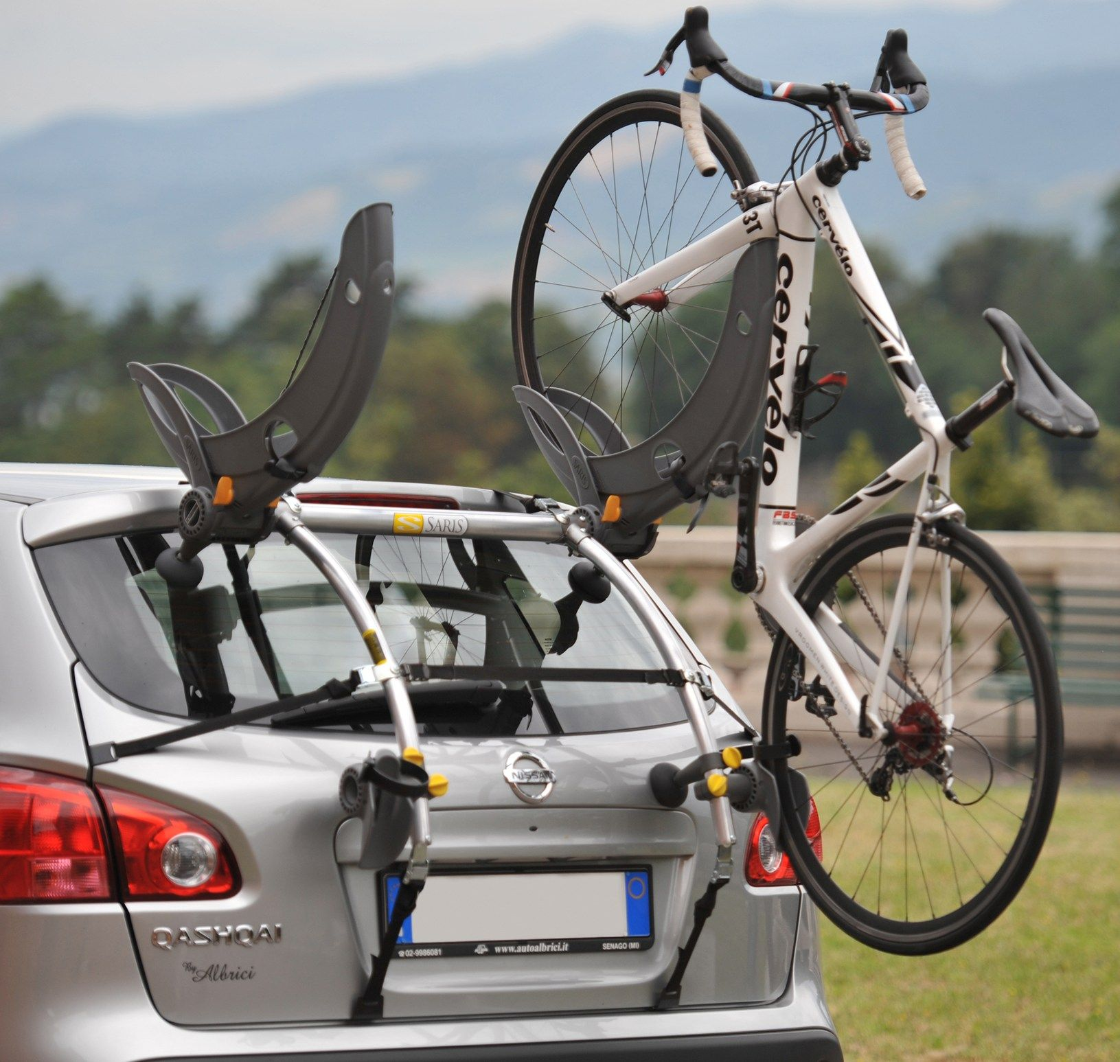 Saris Gran Fondo 2 Bike Trunk Rack Car Bike Rack Best Bike Rack Bike