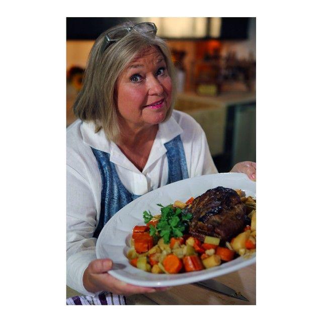 Pork Pot Roast From Hudson Valley Bounty Episode Nancy Fuller Farmhouse Rules Nancy Fuller Pork Pot Roast Pork Pot