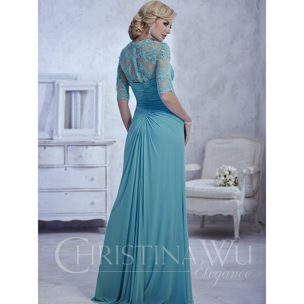 Serena London Style 17771 a timeless A-line mother of the bride ...