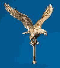 Amazon.com : Outdoor Gold Flagpole Eagle : Flagpole ... |Outdoor Gold Flagpole Eagle