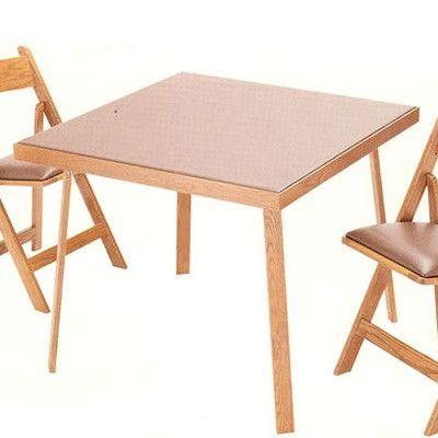 Kestell Furniture Folding Card Table Upholstery Dark Green Felt Finish Fruitwood Walnut Furniture Table Round Folding Table