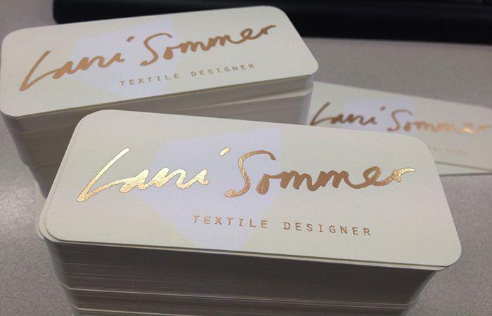 gold foil blocking business cards      Design inspiration ...