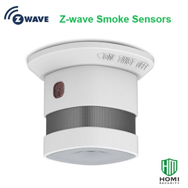 Z-vague L\u0027UE version 86842 mhz fumée capteur zwave maison