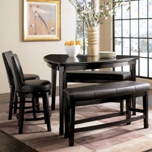 Emory Dinette W/ 2 Benches And 2 Chairs By Ashley Furniture, D569 23