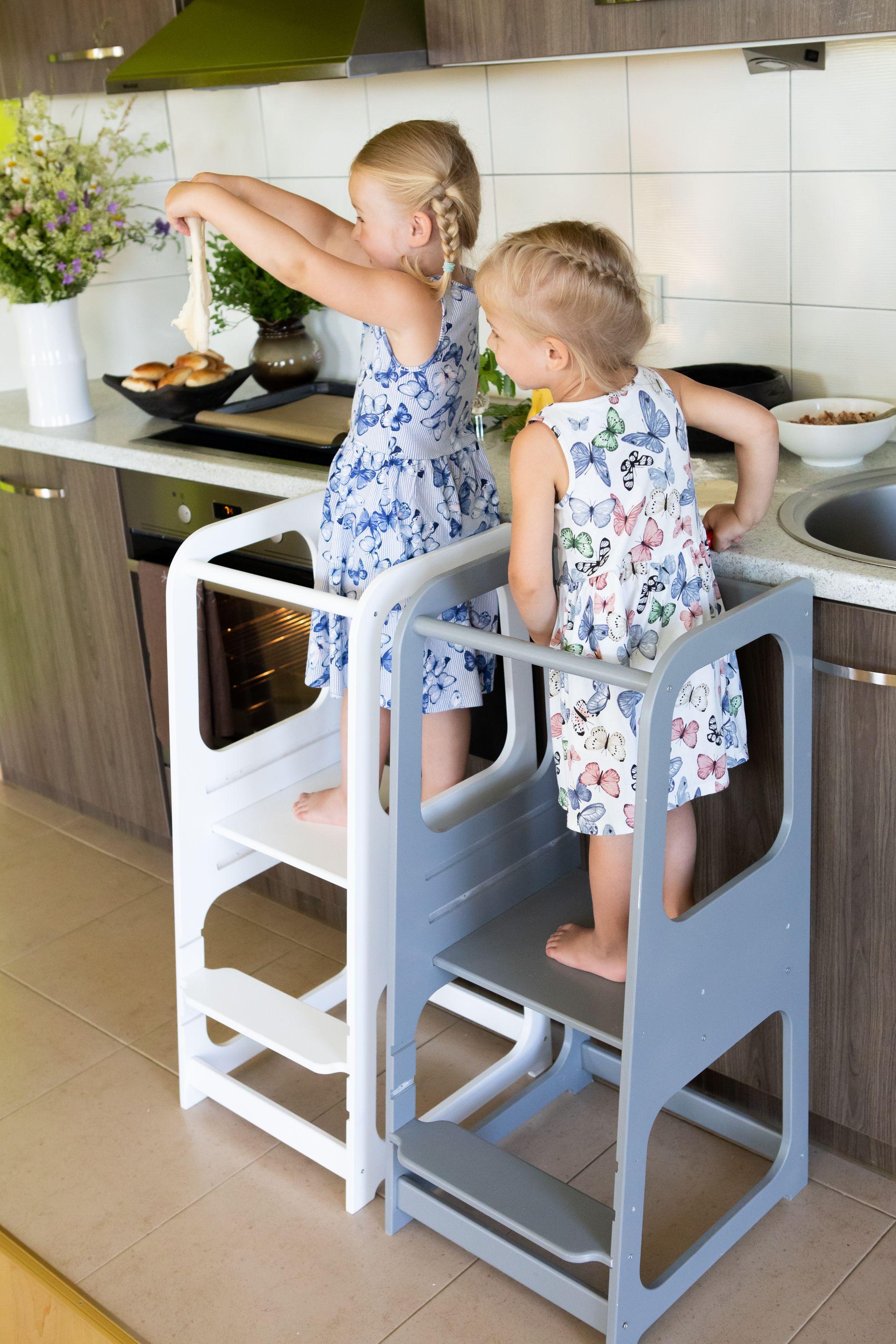 Kitchen Tower Kitchen Helper Tower Kitchen Stool Toddler Etsy