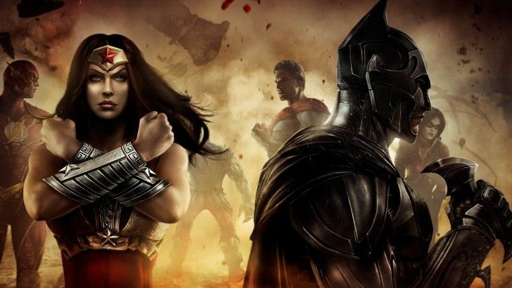 Download Injustice Gods Among Us Batman Wonder Woman The Flash Superman 1920x1080 Batman Wonder Woman Batman Superman Wonder Woman Wonder Woman Movie
