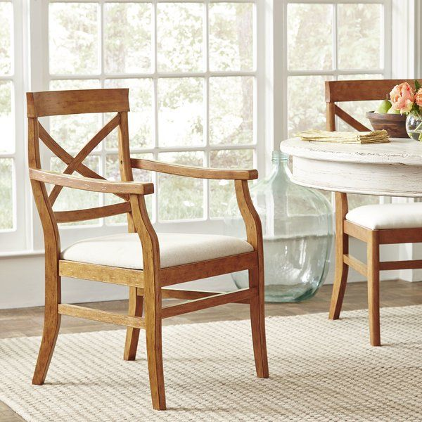 Birch LaneTM Mansfield Arm Chair Rustic Dining RoomsDining