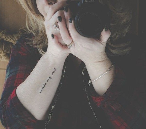 """224 Best Literary Tattoos Images On Pinterest: Forearm Tattoo, """"awake My Soul"""" Quote Tattoo, Literary"""