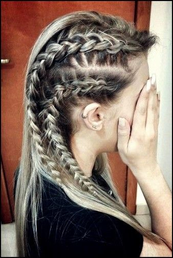 5 Vikinger Lagertha Haar Tutorial Und Frisuren Fur Frauen Trend Bob Frisuren 2019 Hair Styles Viking Hair Lagertha Hair