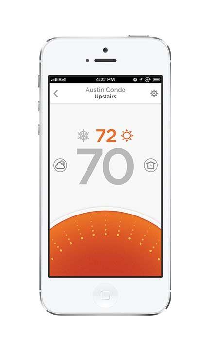 Apple S Homekit Partner Honeywell Launches Lyric Smart Thermostat Nest Competitor Kit Homes Smart Thermostats Smart Home Automation