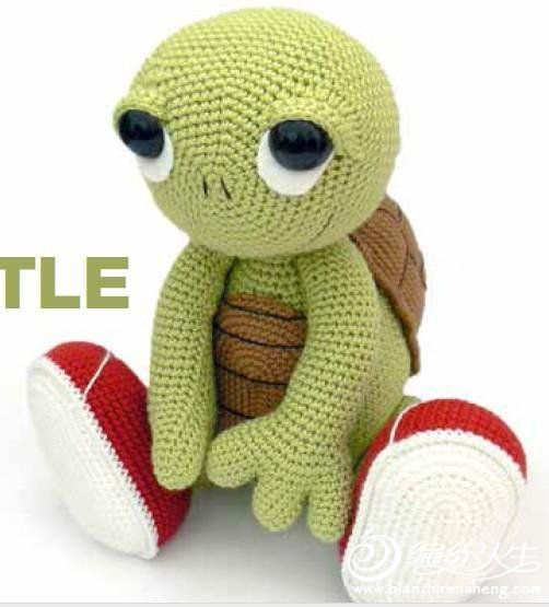 Turtle crochet pattern in Chinese | dedinhos | Pinterest ...