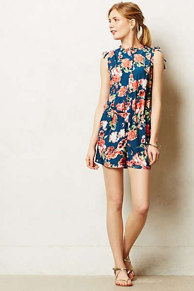 Anthropologie - Thistleberry Romper