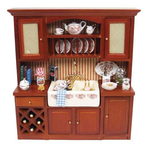 Kitchen Sink Cabinet with Accessories By Reutter Porzellan ...
