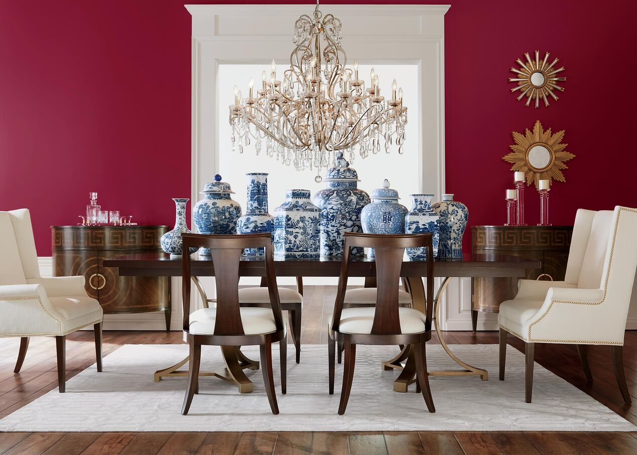 Yves Host Chairs Upholstered   Ethan Allen Dining Room Host Chairs ...