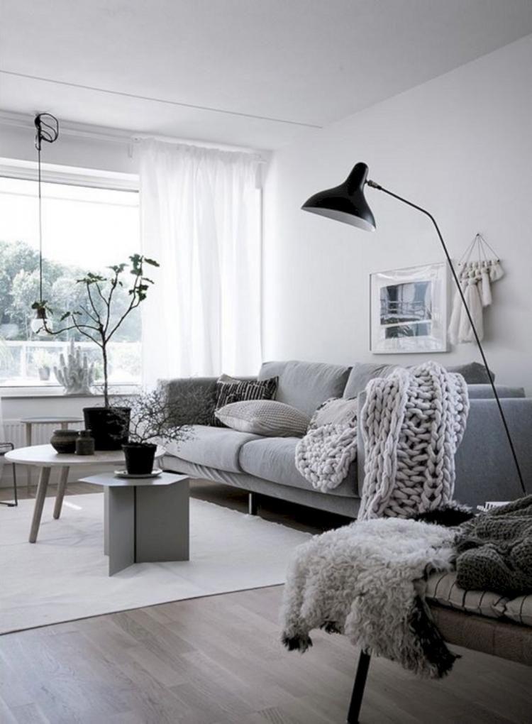 45 Fascinating Nordic Living Room Decor Ideas Nordic Living Room Living Room Decor Scandinavian Apartment