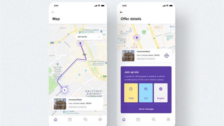 Free Figma Travel Map App Template Free Figma Templates Mobile App Templates App Template Mobile Template