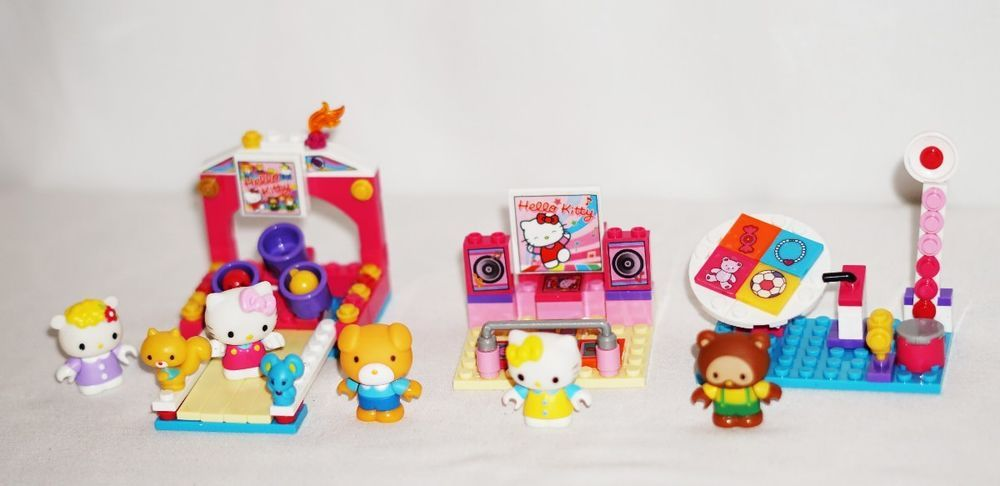 Mega Bloks Hello Kitty 10974 Fun At The Arcades With Instructions