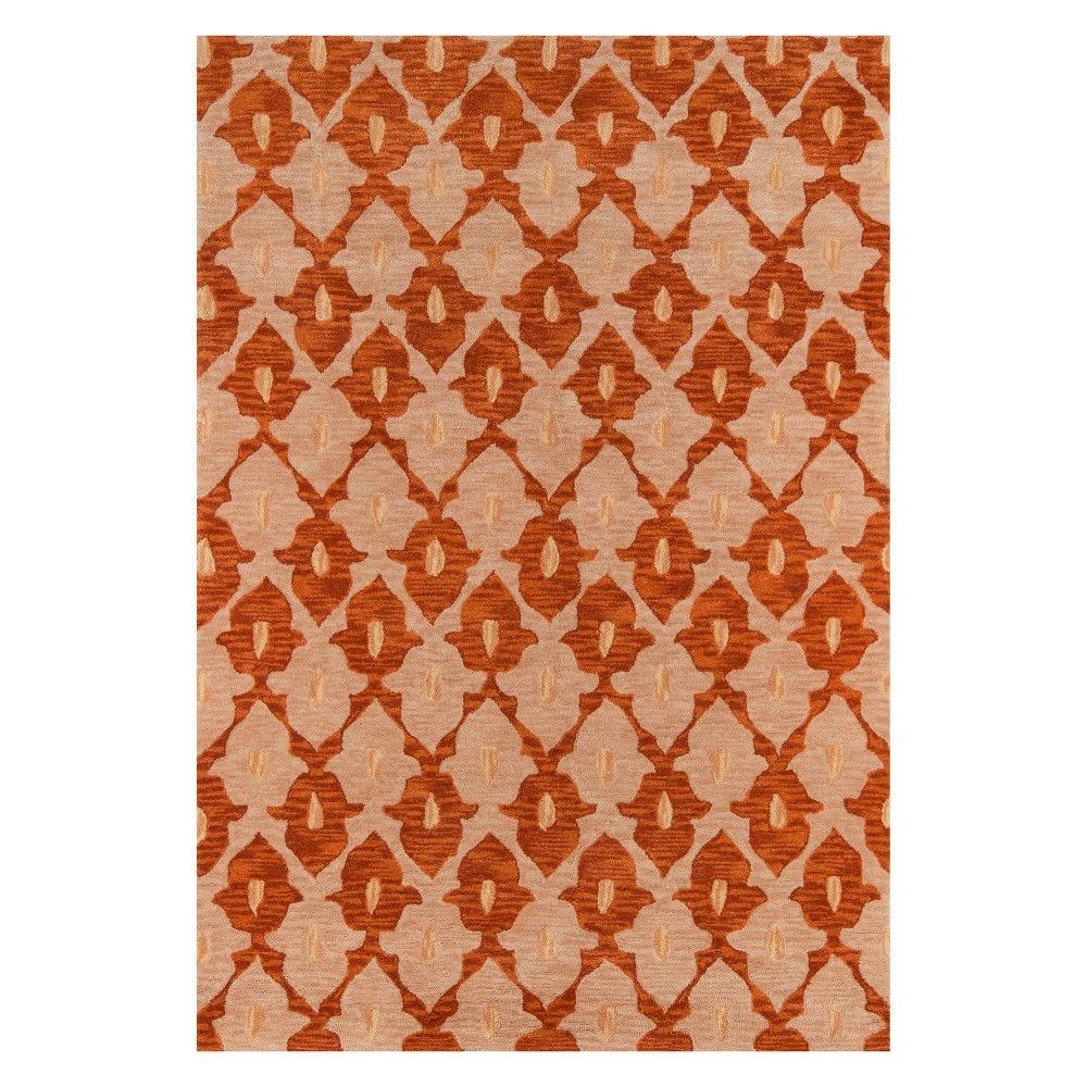 2 X3 Geometric Tufted Accent Rug Sand Momeni Brown Geometric Accent Rugs Rugs