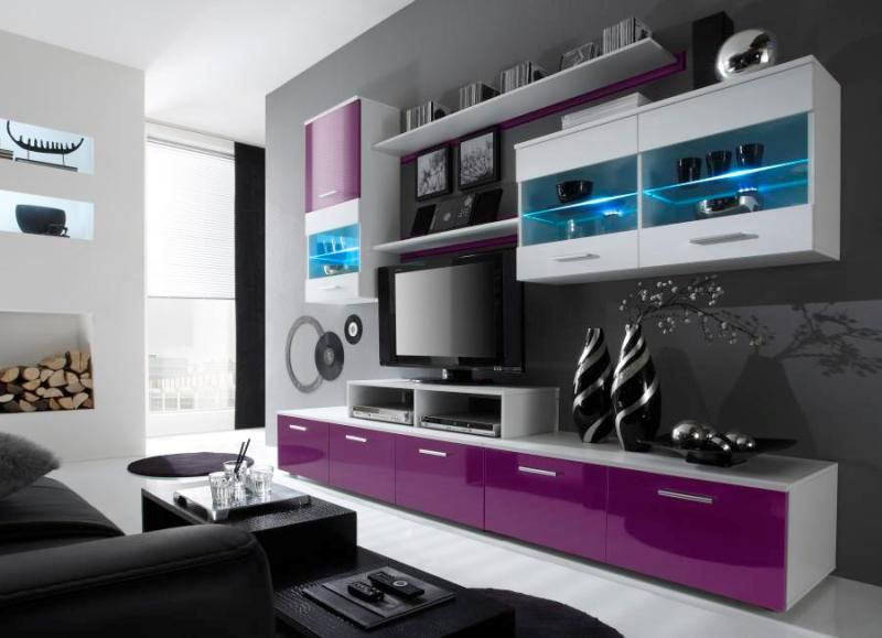 Living Rooms · Entertainment Wall Units ... Part 77