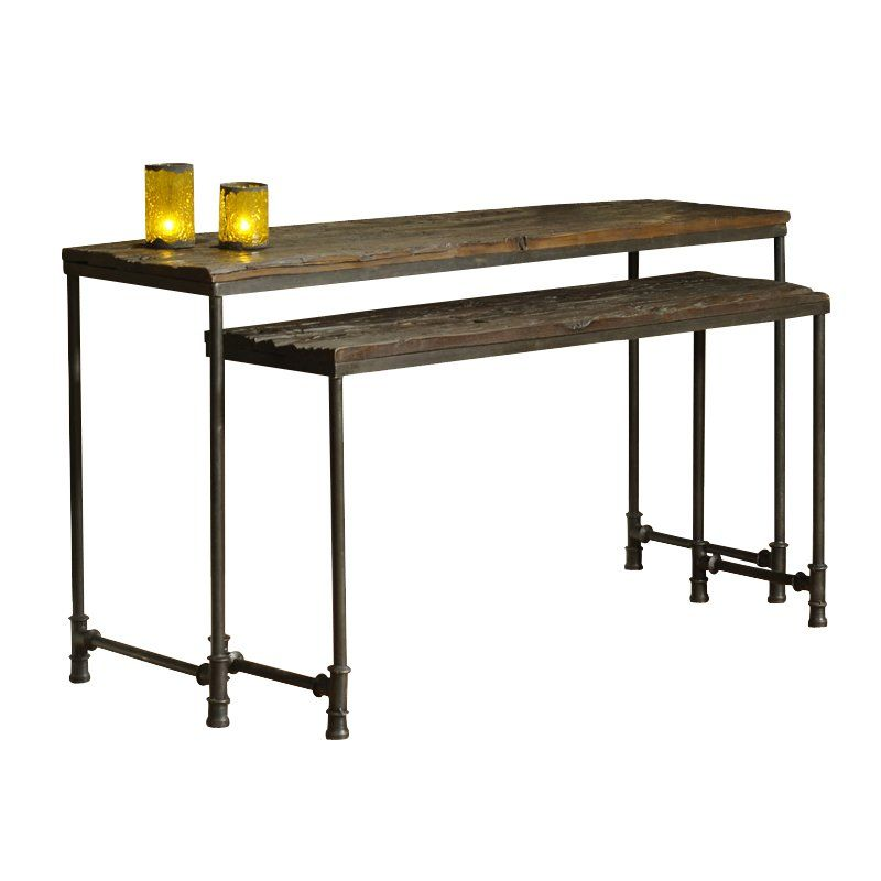 Charmant Made From Distressed Reclaimed Saal Timbers. These Nested Console Tables  Will Add A Unique Complement