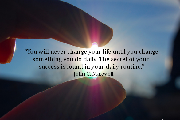 Image result for you'll never change your life until change routibes pic quote