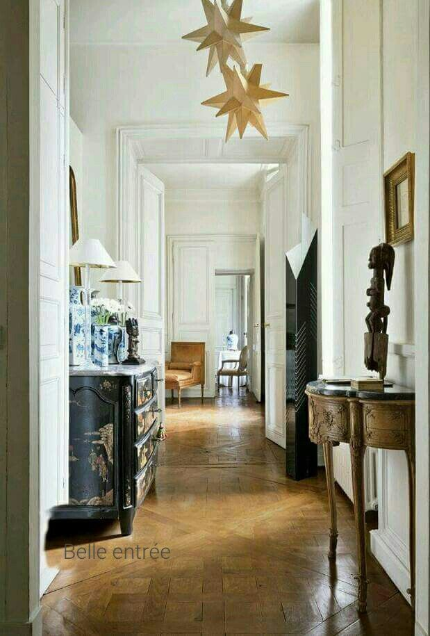 Belle entrée | French Interiors French style | Home Decor, Paris ...