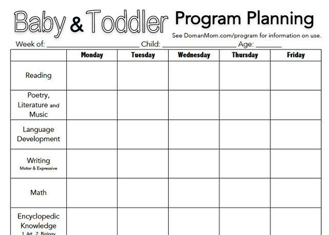 Baby \ Toddler Activity Program Planning Sheet Kids Pinterest - first aid incident report template