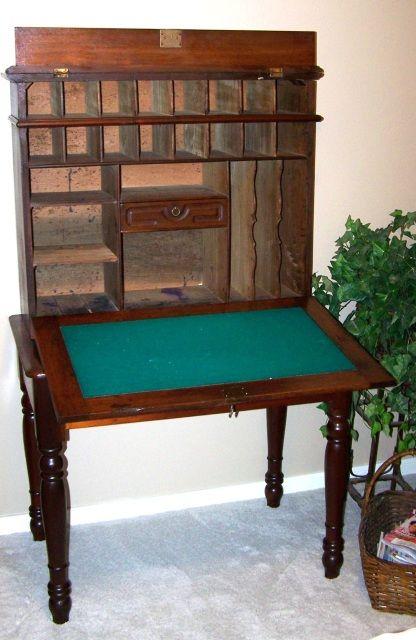 Antique Secretary Writing Desk | ... Desk/hutch secretary style writing desk ? - Antique Secretary Writing Desk Desk/hutch Secretary Style