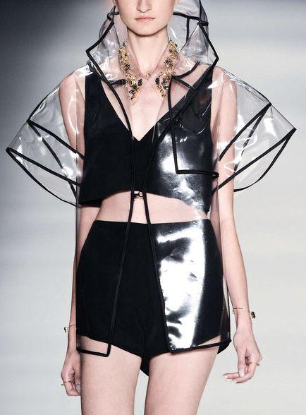 Clear transparent Rain Coat | Plastic&PVC - Closet of my Dreams ...