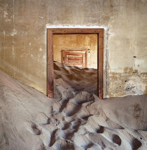 Ghost Town Interiors Reclaimed By The African Desert