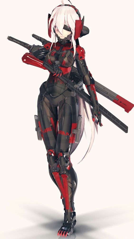 Pin By Eternal Pioneer On My Comic Inspiration Cyborg Anime Robot Girl Character Art