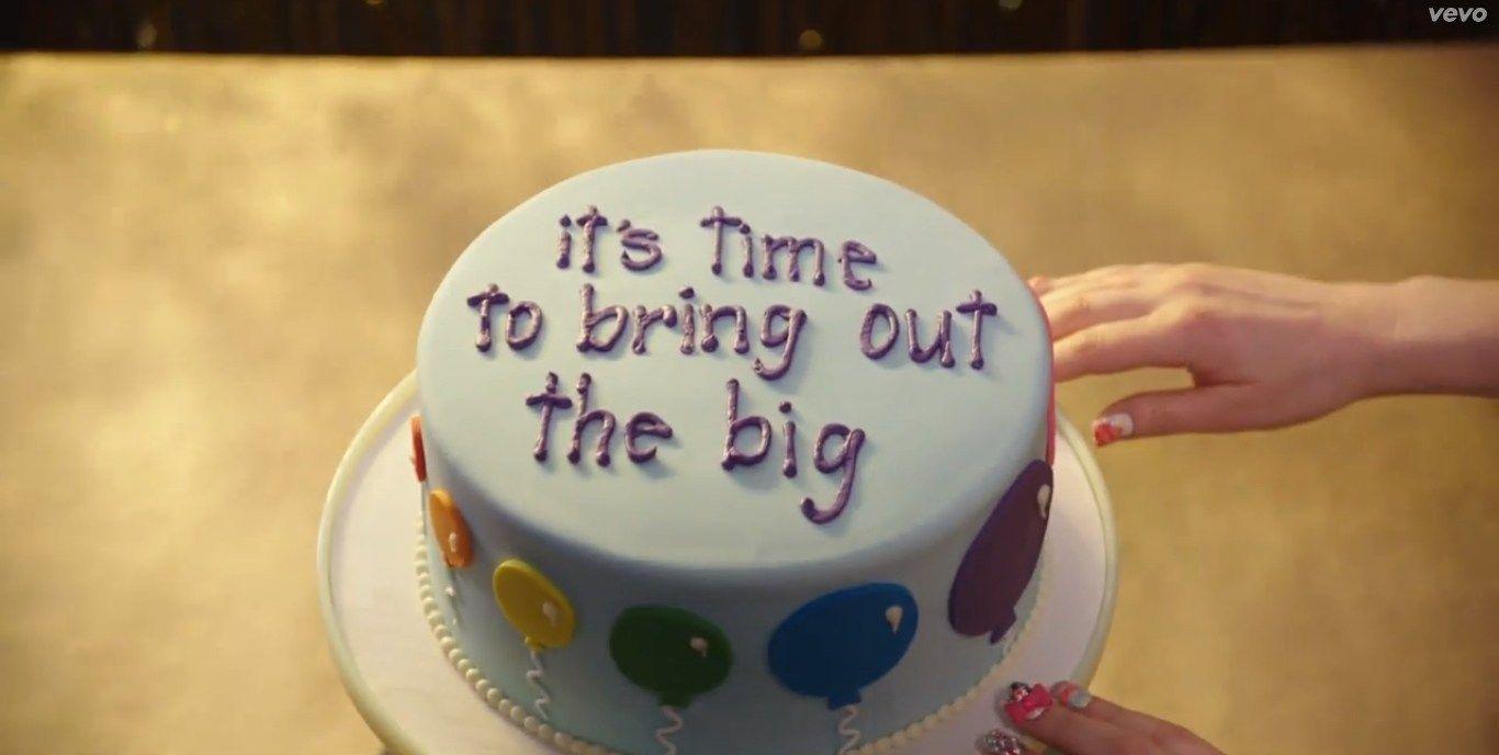 30 Wonderful Photo Of Katy Perry Birthday Cake Lyrics